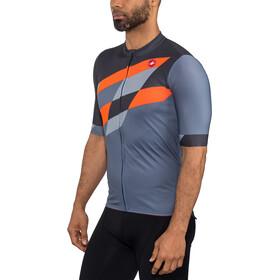 Castelli Tabularasa Jersey Doorlopende Rits Heren, multicolor/blue/orange